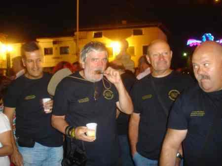 José M. Pereira, Juan José, Manuel Sanchez y Ricardo Trebolle. Día 31/08/2.013