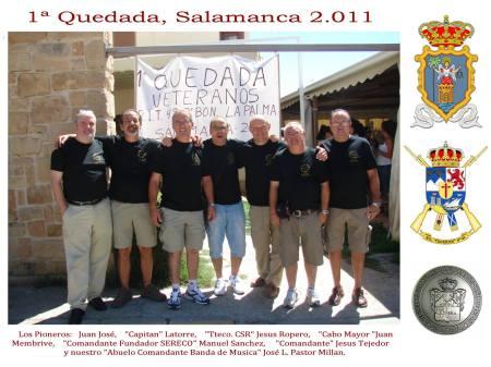 1ª Quedada, en Huerta Salamanca.